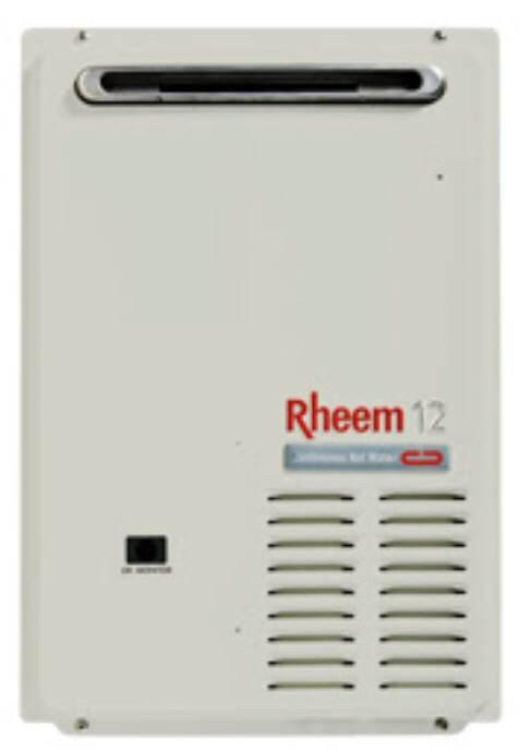 Rheem Continuous Flow 12