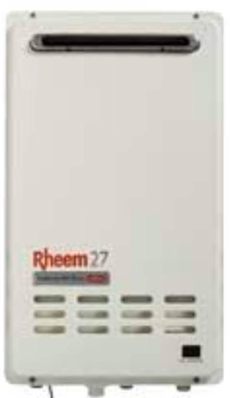 Rheem Continuous Flow 27